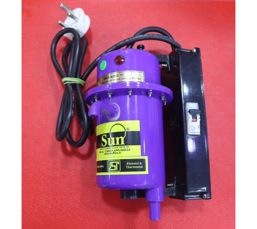 Sun Instant water heater (with Tripper)- VIOLET