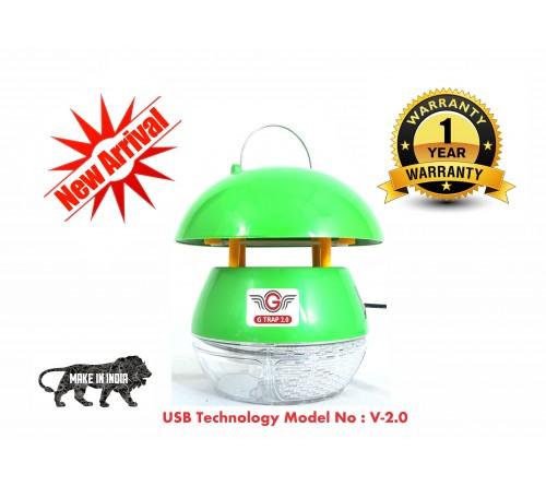 GTRAP MOSQUITO KILLER V 2.0 GREEN - USB (1+1 Combo Offer)