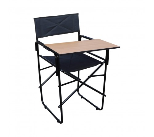 Folding Study Chair with Writing pad