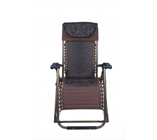Smart Reclining Chair-(Dark Brown )
