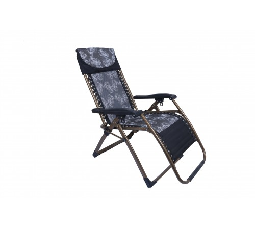 Smart Reclining Chair-(Black with Gray )