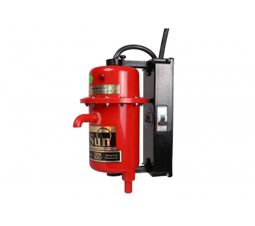 Sun Instant water heater (with Tripper) - Red
